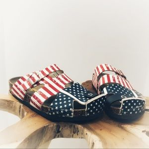 Other - Hotwind men's patriotic sandals